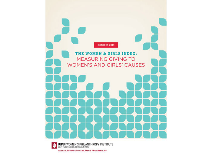 Cover of Measuring Giving to Woman's and Girl's Causes