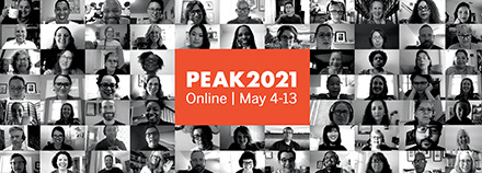 PEAK 2021 Online conference image May 4-13